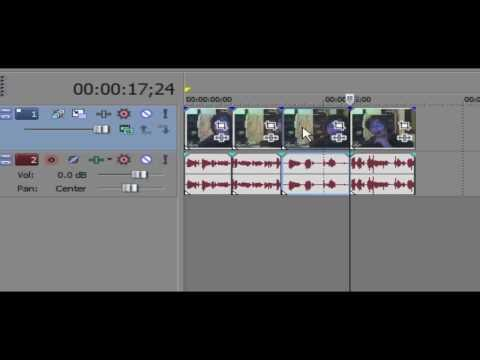 Sony Vegas Tutorial - Jump Cutting: Make Your Video Look Professional!
