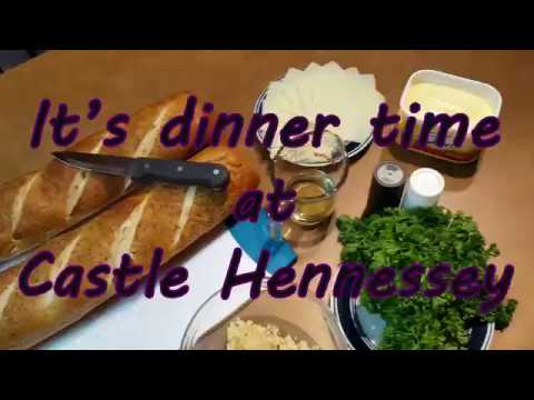 May 30, 2018 Vlog #112 Cooking at Castle Hennessey Ep. 1