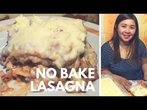 How to make No Bake Lasagna (Filipino Version)