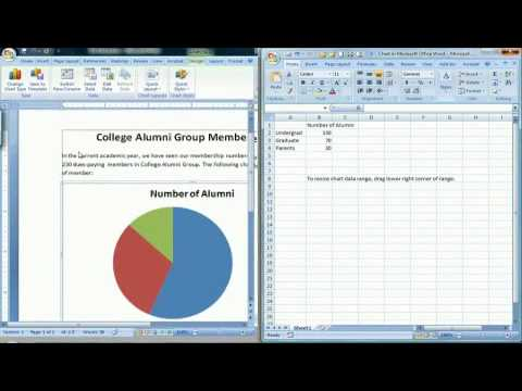 How to Create a Pie Chart in Microsoft Word 2007