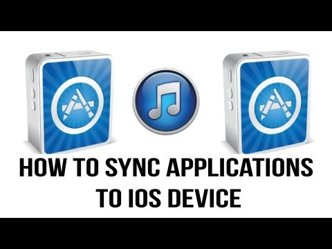 Itunes 11 Tutorial - How To Sync Apps To Your iPhone, iPad or iPod