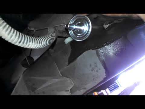 Fuel filter replacement 2006 Ford Freestar 2007 2008 Install, remove or replace