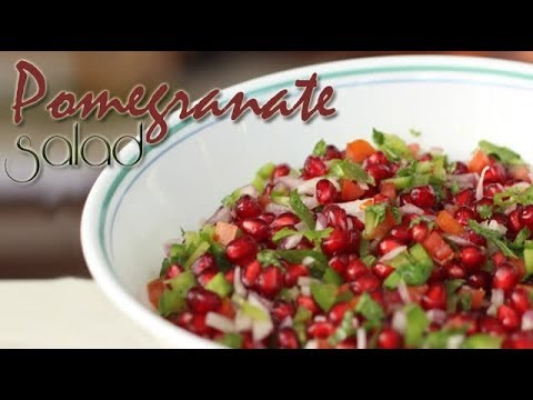 Pomegranate Salad | Ventuno Home Cooking