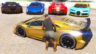Stealing Super Rare Cars in GTA 5
