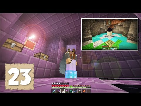 END CITY EXPLORATION & DRAGON DISPLAYS!! - Survival Let's Play Ep. 23 - Minecraft 1.2.3