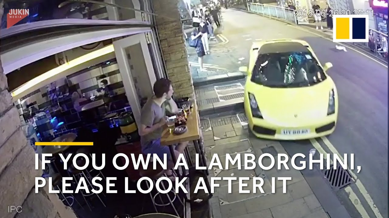 If you own a Lamborghini, please look after it