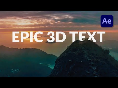Track 3D Titles in Your Scene in After Effects - Tutorial