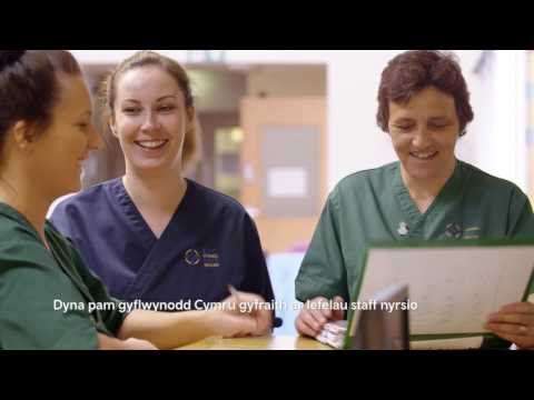 NHS Wales' Nurse Recruitment Campaign - Welsh (May 2017)