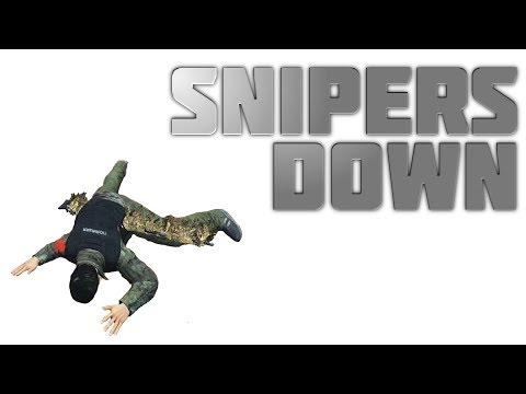 Snipers Down | DayZ Standalone Gameplay