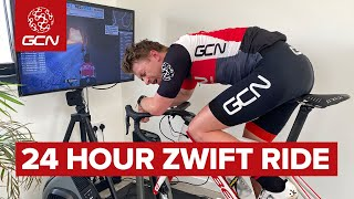 24 Hour Zwift Epic | How Far Can Hank Ride?