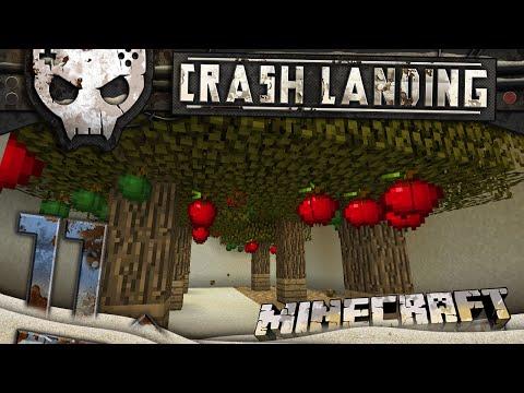 Minecraft Crash Landing 1080p Ep 11: Granny's apples