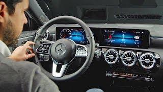 Mercedes A-Class (2018) High-Tech Interior