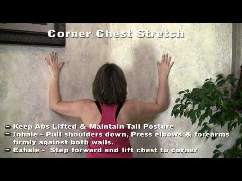 Chest Muscle Stretch To Improve Pilates Posture