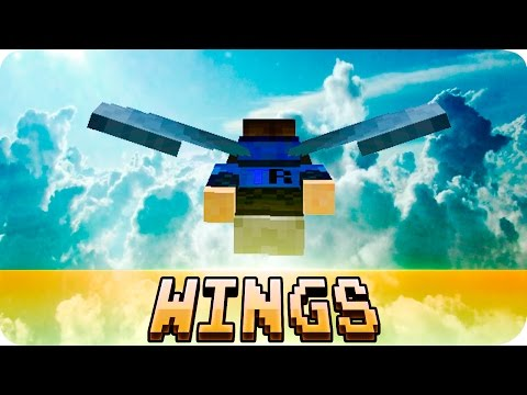 Minecraft - How to Get Wings Tutorial - Elytra Glider Wings (Now on MCPE 1.0)