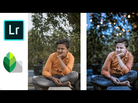 Lightroom CC+snapseed editing toturial CB editing in android mobile