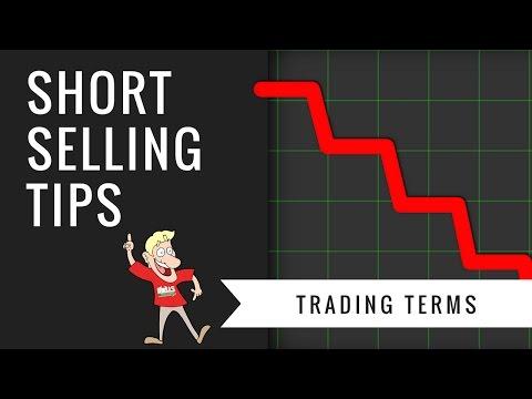 How To Short Stocks - Short Selling Tips