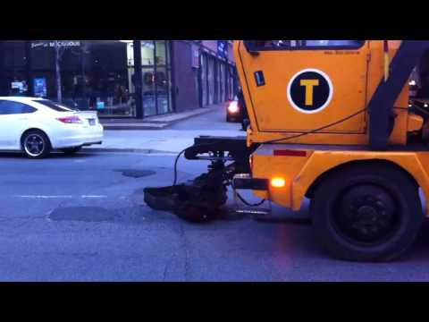 Filling potholes, Montreal style