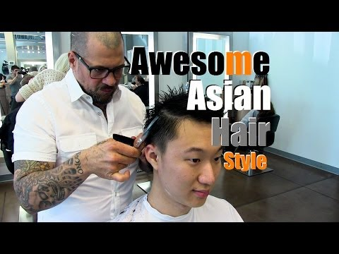 Hair Makeover: Awesome Asian Hair Style (Cool Short Men's Cut)