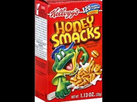 Honey Smacks Logo History.