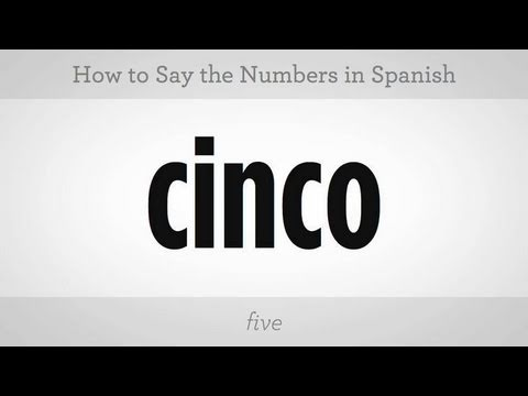 How to Say Numbers in Spanish | Spanish Lessons