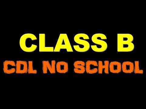 Class  B CDL✔