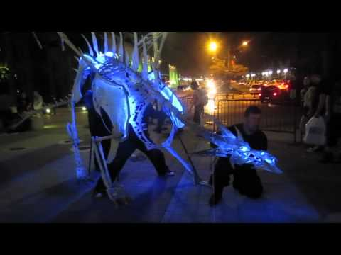 BlizzCon 2011: A Two-Man Frost Dragon Costume