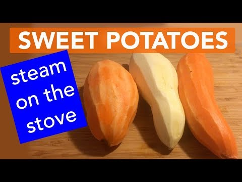 How to Steam Sweet Potatoes without a Steamer by Jennifer Mac