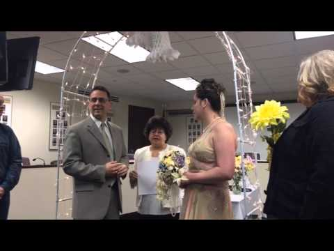 County Clerk will officiate your wedding vow renewal for $25
