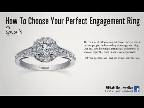 How to Choose a Diamond Engagement Ring Savoy's Jewellers Sault Ste. Marie Ask The Jeweler 1