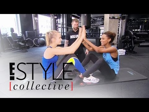 Victoria's Secret Angels Show Off Bikini Body Workout | E! Style Collective | E! News