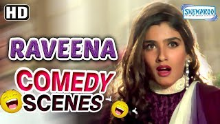Best of Raveena Tandon scene from Dulhe Raja (HD) Govinda - Kader Khan - Johnny Lever - Comedy Movie