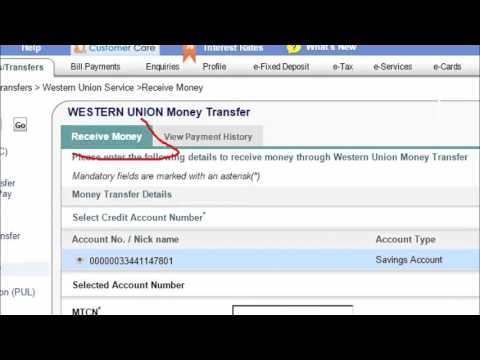 How to Receive or Withdraw Western Union Money to your Bank Account - Tamil Tutorials