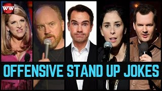 10 Hilarious Offensive Stand Up Jokes!