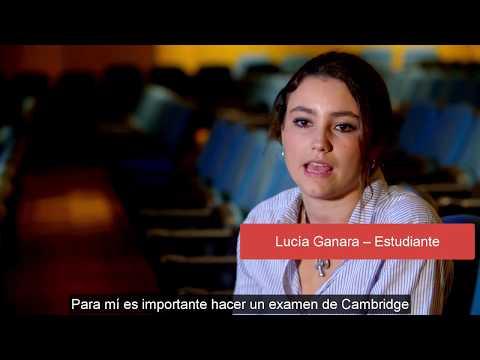 Testimonio Lucía Ganara – estudiante Española – ¿Por qué Cambridge English?