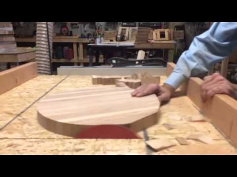 How to make a round cutting board with a table saw PT 2