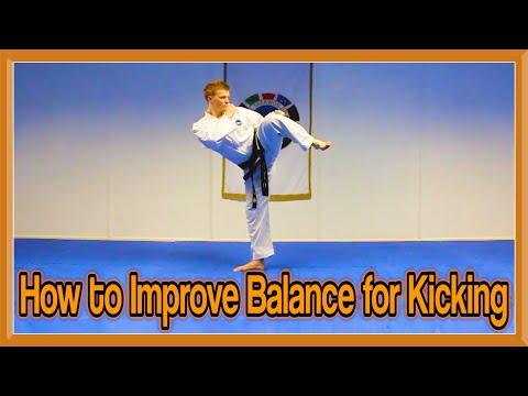 Taekwondo Kicking | How to Improve Balance | GNT Tutorial