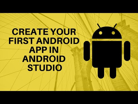 Create your first Android App on Android Studio 2.3.3 Latest Version
