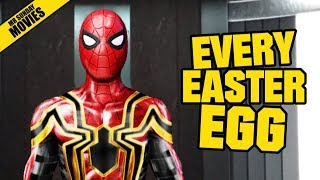 Spider man Homecoming Unknown Easter Eggs Cameos Post Credits