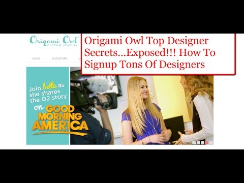 Origami Owl Top Designers Secret: How To Really Get People to Join Your Origami Owl Business.