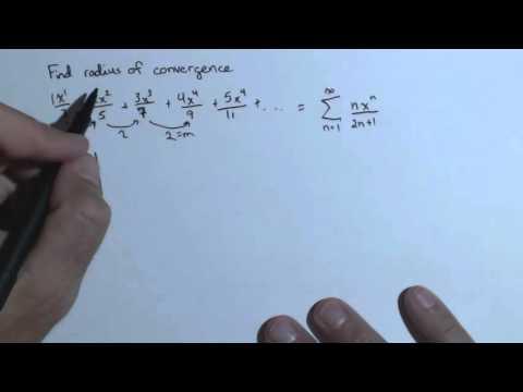 VideoRadius of Convergence Ch8R 4c