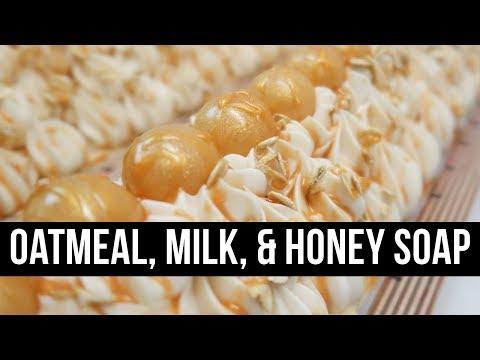 Oatmeal, Milk, & Honey Soap (+ Where I Buy My LYE!) | Royalty Soaps