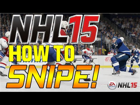 NHL 15 How to Snipe Tutorial