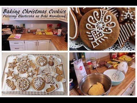 Baking Christmas Cookies / Pieczemy Ciasteczka