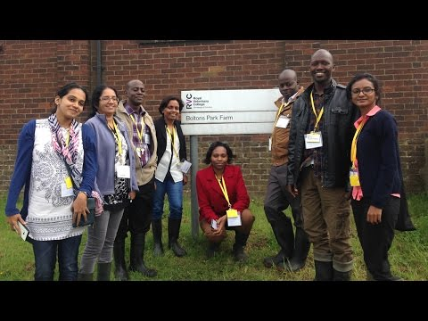 Commonwealth Scholars Orientation Workshop at RVC