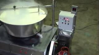 ghee making