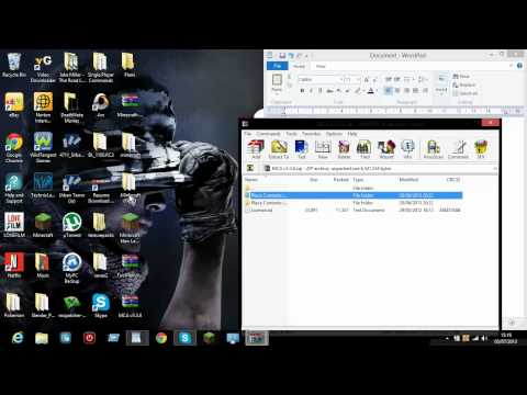 How to install minecraft mod Minecraft comes alive  and forge 1 5 2