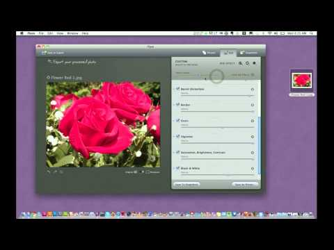 Mac Photo Application