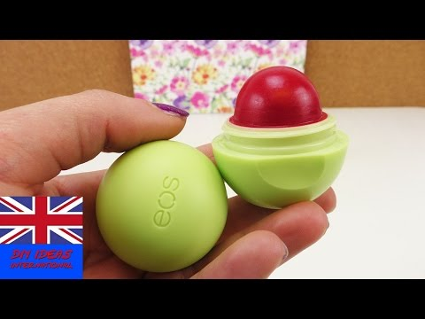 Red Dye EOS Lipbalm – How to make a red eos lipstick – DIY tutorial colouring