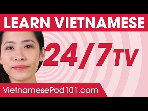 Learn Vietnamese 24/7 with VietnamesePod101 TV