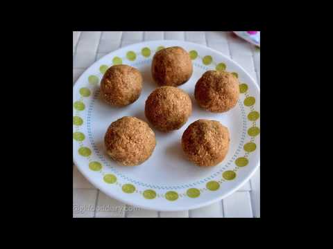 Sesame Peanut Ladoo (Healthy Weight Gain Recipe for Kids)